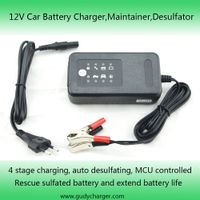 12V 0.8A&3.3A car battery charger with desulfating function thumbnail image