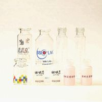 Screen Printed Medical Injection Glass Vials Products for Pharma and Beauty Industries Contact Lens