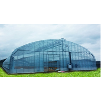 Wide Span Truss-Framed Greenhouse