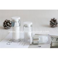 Luxury Cosmetic Acrylic Essence Airless Pump Bottle
