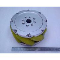 A set of 10inch(254mm) mecanum wheel with PU roller(Load cacipity 1500KG) NM254A