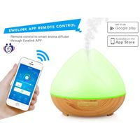 wifi app alexa control smart essential oil aroma diffuser