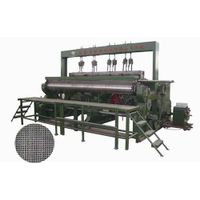wire mesh weaving loom