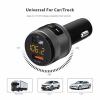 Handsfree Bluetooth Car Kit with QC 3.0 Charging