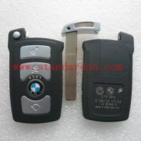 FOR 7 SERIES BMW AUTO REMOTE REPLACEMENT KEY SHELL BLANK KEY COVER BMW SMART CARD CASE