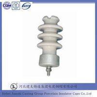 Porcelain Line Post Insulator cast iron fittings for High Voltage thumbnail image