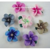 polymer clay flower jewelry hair accessory thumbnail image