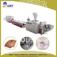 WPC PVC Free Foam Floor Decorative Board Plastic Extrusion Line