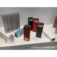 Decorative & Architectural  Aluminum  Profiles anodizing