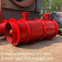 Mine press-in type local ventilation blower