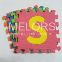 Melors EVA Interlocking Number Puzzle Mat For Baby thumbnail image