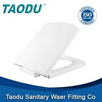 Square Bidet toilet seat cover with soft closingTD-352