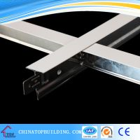 Flat White Paint Ceiling T Grid 32240.33600mm