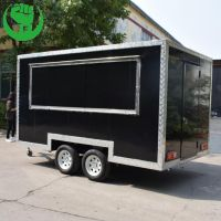 Food Cart Vendor Coffee Concession Trailer for Sale thumbnail image