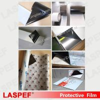 Transparent Plastic Acrylic 50micron Stainless Steel Protection Tape
