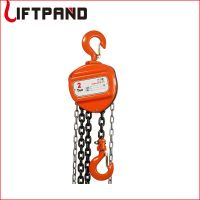 CK cheap price plywood case manual chain hoist