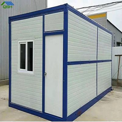 Fast assemble 20ft foldable container house for office container