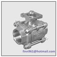 3PC BALL VALVE WITH MOUNTING PAD ISO5211(HV-30P)