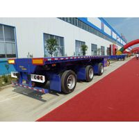 3-Axle Extendable Flatbed Trailer