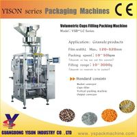 Automatic Oats Cereal packing machine with Volume Doser
