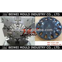 OEM Custom Injection plastic car wheel cover mold