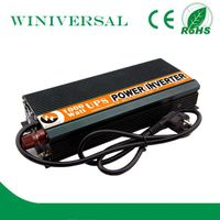 Solar off grid inverter 1kw with charger dc ac power inverter true Power inverter with built-in char
