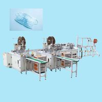 Automatic 3 ply face medical mask making machine thumbnail image