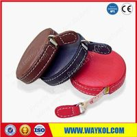 PU leather tape measure for gifts