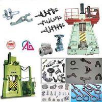 Numerical control hydraulic closed die forging hammer