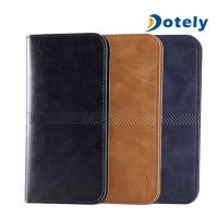 Universal Case Fashion Wallet Case Leather Phone Case Cover Stand with Card Holder thumbnail image