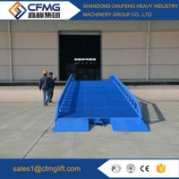 mobile container load dock ramps