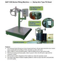 Weight based IBC filling machine