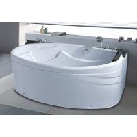 Acrylic Material Hydromassage Whirlpool Small European Bathtub