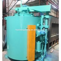 Industrial Pit / Well Type Heat Treatment Die Steel Vacuum Gas Nitriding Furnace