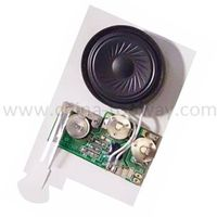 Sound module for greeting card thumbnail image
