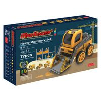 Magkinder 2D Magnetic blocks Heavy Machinery Set 72pcs
