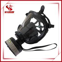 Full face protection gas mask with filter thumbnail image