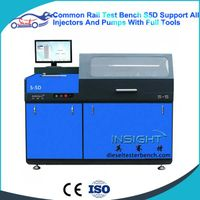 Automatic Common Rail Injector & Pump Test Bench S5D Testing Stand thumbnail image