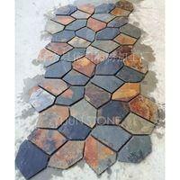 YIJUN STONE/ natural rusty stone/road stone thumbnail image