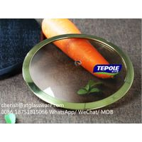 Brown Tempered Glass Lid Factory Pot Lid Pan Lid Cookware Parts thumbnail image
