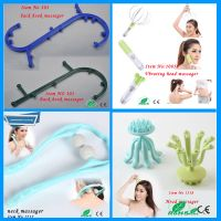 new plastic neck massager
