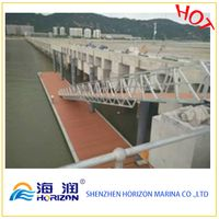 High Quality Galvanized Steel Boat Gangway Ladder for Floating Dock