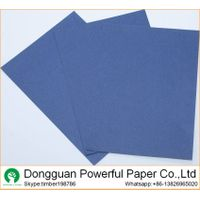 color paper  110g blue paper 230g blue kraft paper board
