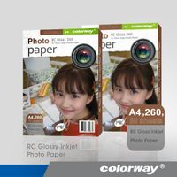 PREMIUM Resin Coated Photo Paper RC inkjet paper
