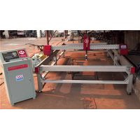 table style cnc oxyfuel cutting machine