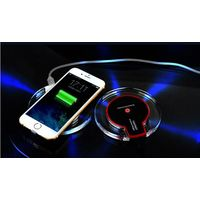Crystal wireless charger pad for iphone6s/Iphone7 samsung note5