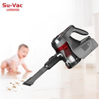 SUVAC DV-889DC-XW LED DISPLAY HANDHELD CORDLESS CYCLONE VACUUM CLEANER