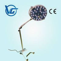 Mobile LED surgical lamps with castor