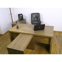 SOLID OAK OFFICE SET