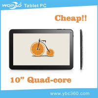 10.1 Inch A31s Quad Core Dual Camera Multi-Touch Multi-Language cheap Android Tablet PC